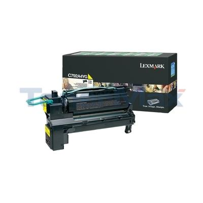 LEXMARK C792/X792 PRINT CART YELLOW RP TAA
